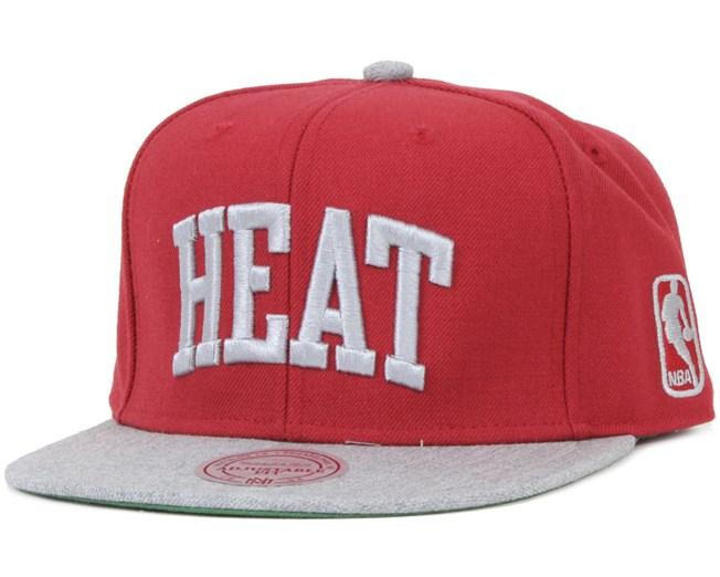Miami Heat TC Top Snapback - Mitchell & Ness
