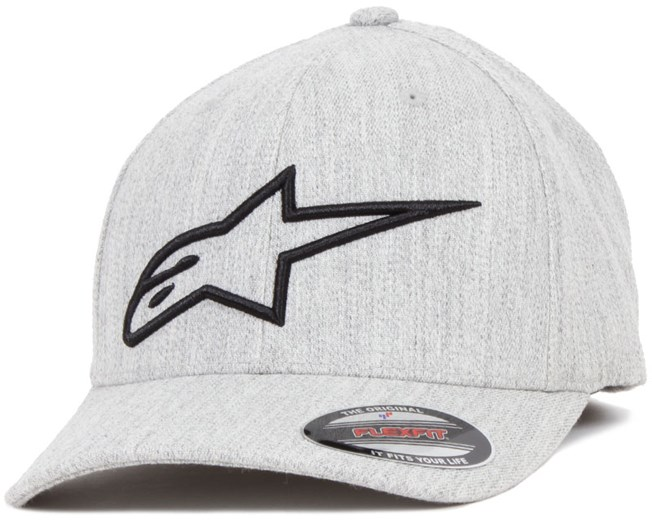 Logo Astar Light Heather Gray/Black - Alpinestars