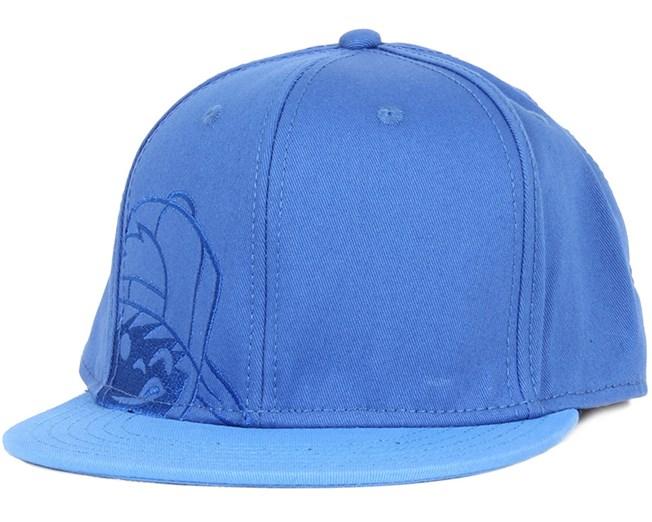Kids Kenny Corpo Blue Snapback - Neff