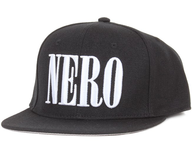 Nero Black Snapback - New Black