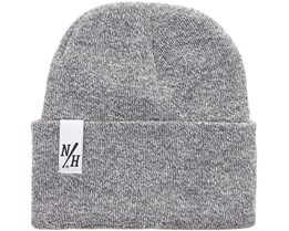 Batts Beanie Heather Grey - Northern Hooligans