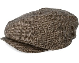 Tucson Brown Flat Cap - Dickies