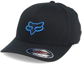Legacy Black/Blue Flexfit - Fox