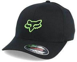 Legacy Black/Green Flexfit - Fox