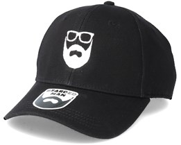 Logo Black Adjustable - Bearded Man
