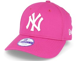 Kids NY Yankees Basic Hot Pink 940 Adjustable - New Era