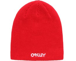 Factory Flip Beanie Red Line - Oakley