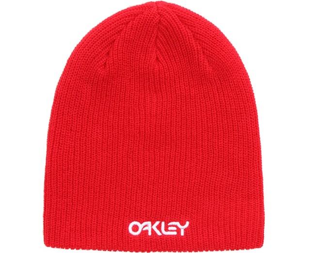 Factory Flip Beanie Red Line - Oakley