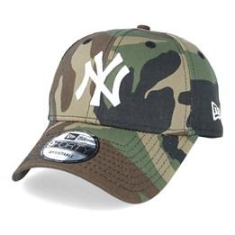 8743b122024 New Era NY Yankees Basic Camo White 940 Adjustable - New Era £17.99 £19.99