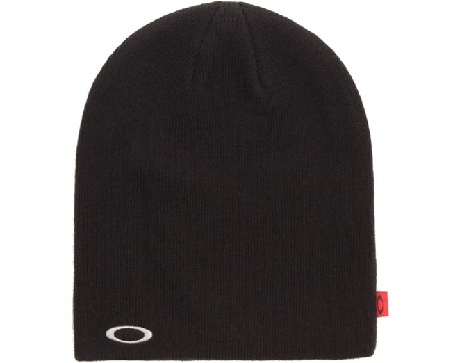 Fine Knit Beanie Black - Oakley