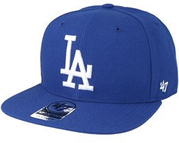 LA Dodgers Sure Shot Royal/White Snapback - 47 Brand