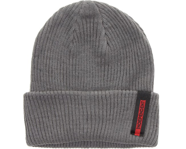 Front Beanie Charcoal - Independent