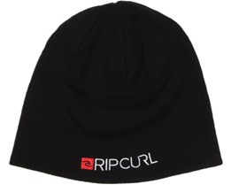 Ripper Beanie Black - Rip Curl