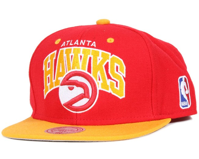 Atlanta Hawks Team Arch Snapback - Mitchell & Ness