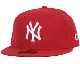 New Era - MLB Basic NY Yankees Scarlet