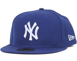 NY Yankees MLB Basic LT Royal/White 59Fifty - New Era