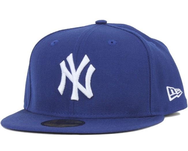NY Yankees MLB Basic LT Royal/White 59Fifty - New Era
