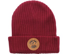 Badge Beanie Burgundy - CLWR