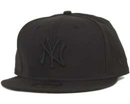 NY Yankees Black On Black - New Era
