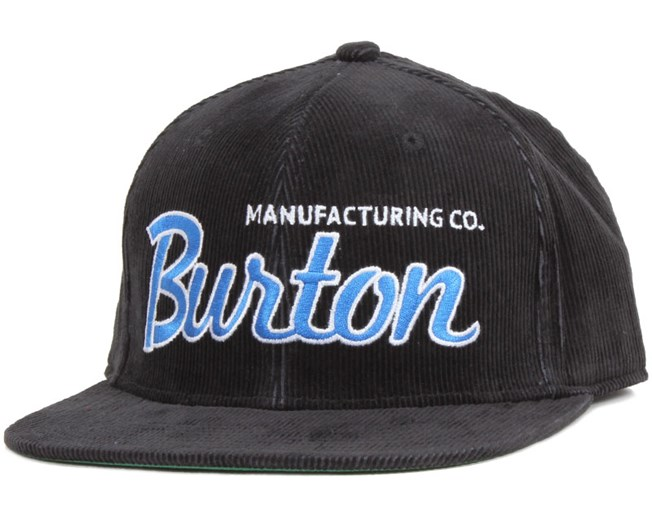 Standard Snapback True Black - Burton