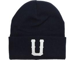 Union Beanie Dark Navy - Upfront
