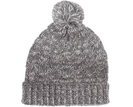 Love Carey Beanie Light Grey Melange - Sally & Circle