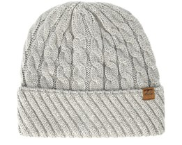 Hill Heather Grey Beanie - Billabong