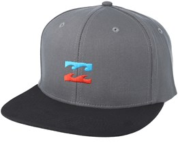 All Day Asphalt Grey Snapback - Billabong