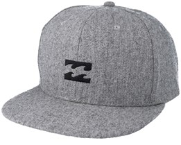 All day Heather Grey Snapback - Billabong