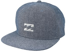 All day Heather Navy Snapback - Billabong