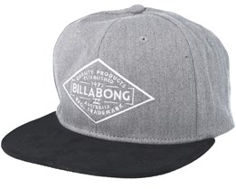 Sama Heather Grey Snapback - Billabong