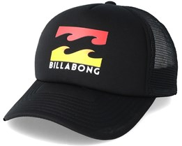 Kids Podium Boy Black Trucker - Billabong