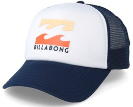 Kids Podium Boy White/Multi Trucker - Billabong