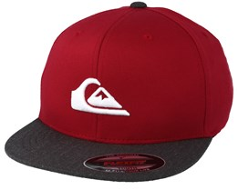 Stuckles Youth Red Snapback - Quiksilver