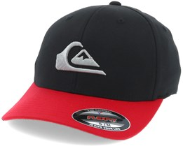 Mountain And Wave Black Flexfit - Quiksilver