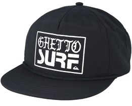 Ghetto Surf Black Snapback - Quiksilver