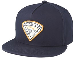 Mouthy Youth Navy Snapback - Quiksilver