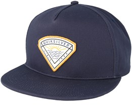 Mouthy Navy Snapback - Quiksilver