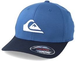 Mountain And Wave Blue Flexfit - Quiksilver