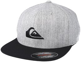 Stuckles Grey/Black Fitted - Quiksilver