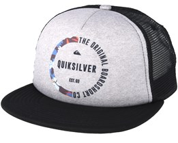 Kids Mix Tape Youth Grey Trucker - Quiksilver
