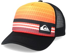 Kids Foamnation Boy Orange Multi Trucker - Quiksilver