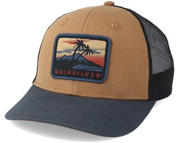 Blocked Out Brown Trucker - Quiksilver