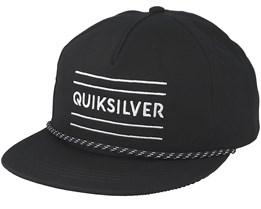 Fold Snapper Black Snapback - Quiksilver