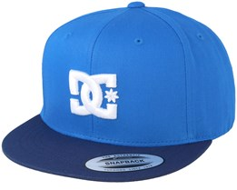 Kids Snappy Boy Blue Snapback - DC