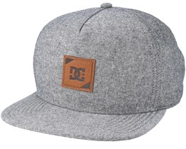 Swatchton Heather Grey Snapback - DC