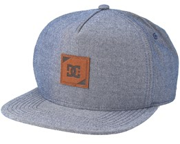 Swatchton Heather Navy Snapback - DC