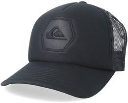 Pressington Black/Black Trucker - Quiksilver