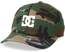 Cap Star 2 Camo/White Flexfit - DC