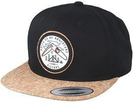 Parkdale Black Snapback - Picture